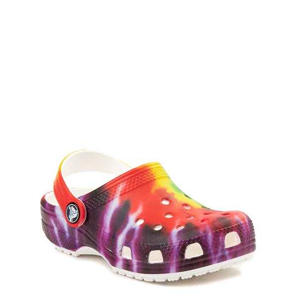 alternate view Crocs Classic Tie Dye Clog - Baby / Toddler / Little Kid - MultiALT1