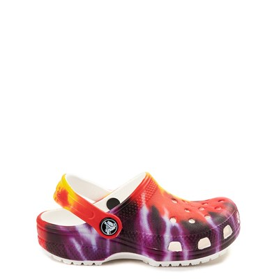 Main view of Crocs Classic Tie Dye Clog - Baby / Toddler / Little Kid