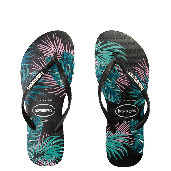 Womens Havaianas Slim Tropical Floral Sandal