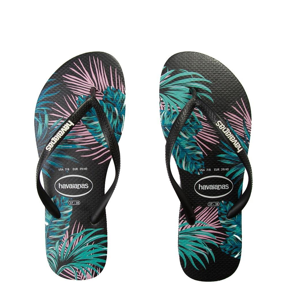 a43a2bdf0f66 Womens Havaianas Slim Tropical Floral Sandal