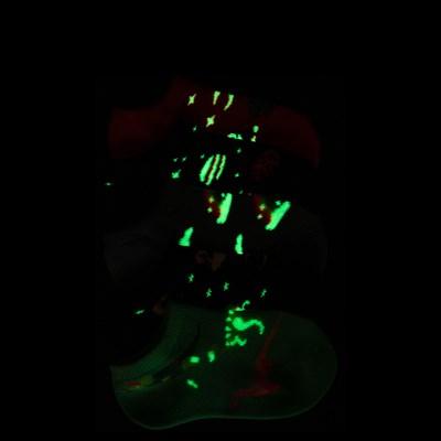 Alternate view of Girls Toddler Dino Glow Socks 5 Pack