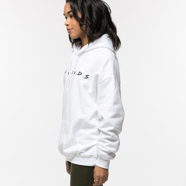 alternate view Womens Friends Hoodie - WhiteALT2