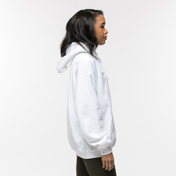 alternate view Womens Friends Hoodie - WhiteALT3