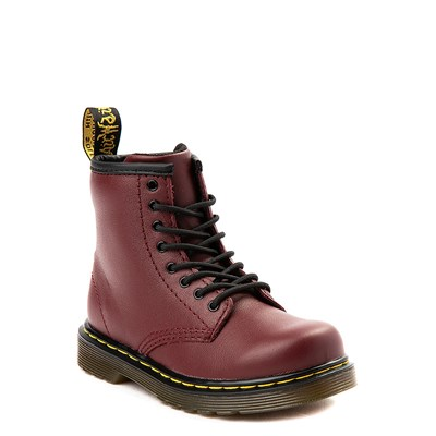Alternate view of Dr. Martens 1460 8-Eye Boot - Toddler - Cherry