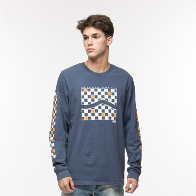 Main view of Mens Vans Side Check Long Sleeve Tee