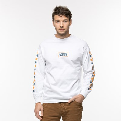 Mens Vans Side Check Long Sleeve Tee