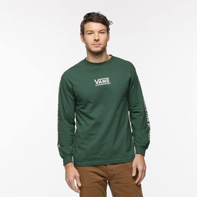 Main view of Mens Vans Checkmate Long Sleeve Tee