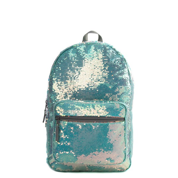 Main view of Mermaid Sequin Backpack - Mint