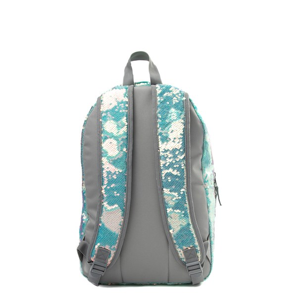 alternate view Mermaid Sequin Backpack - MintALT1