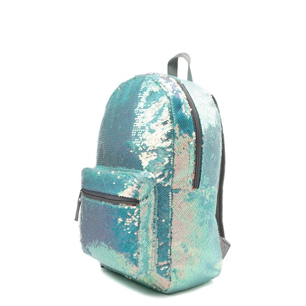 alternate view Mermaid Sequin Backpack - MintALT2