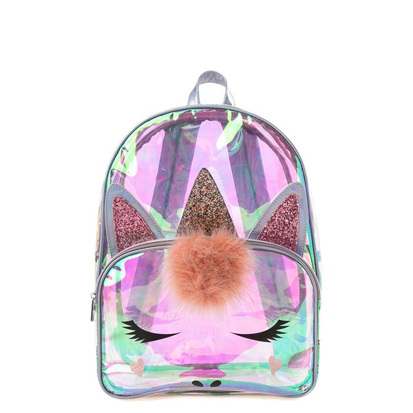 Clear Unicorn Backpack
