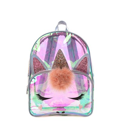 Main view of Clear Unicorn Backpack