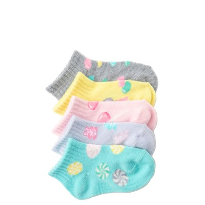 Main view of Infant Candy Gripper Socks 5 Pack