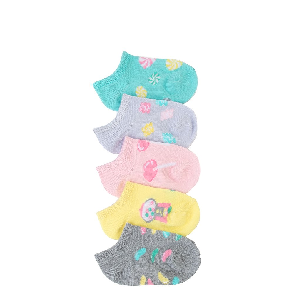 Candy Gripper Socks 5 Pack - Toddler