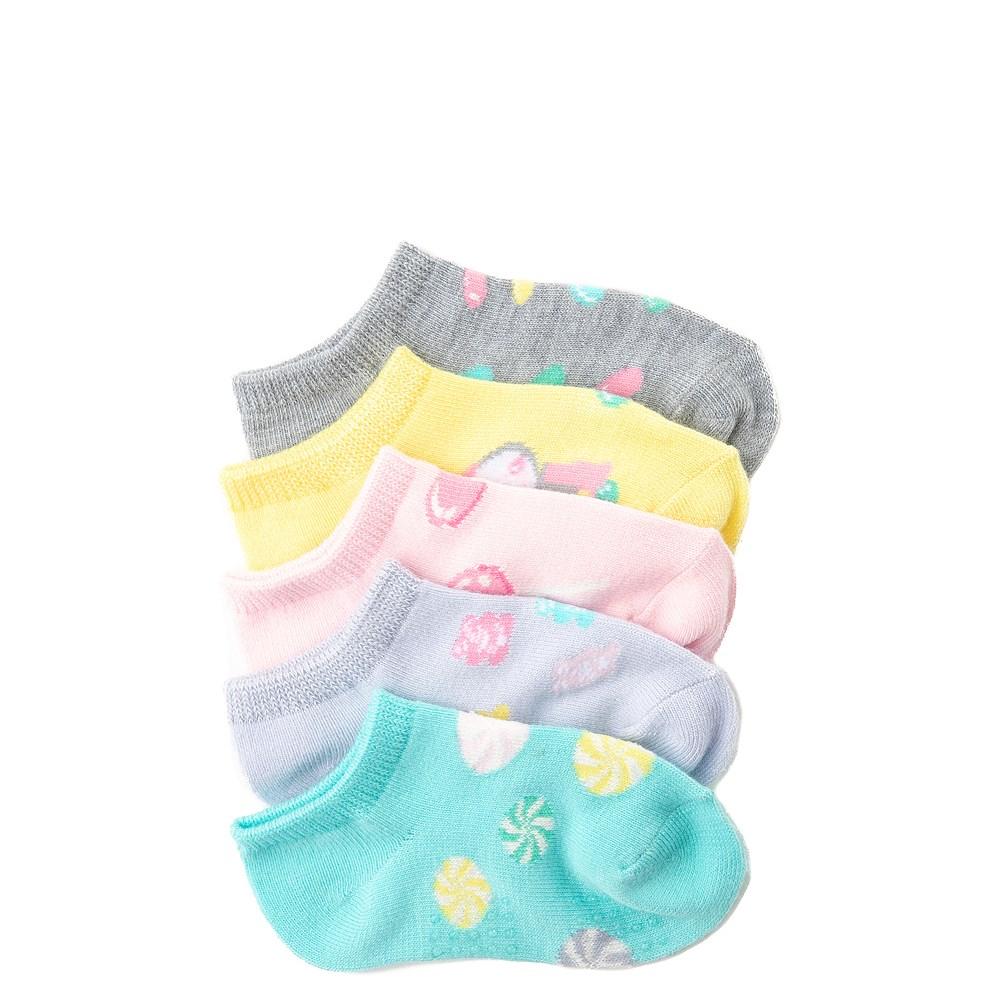 Toddler Candy Gripper Socks 5 Pack