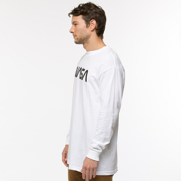 alternate view Mens NASA Remix Long Sleeve Logo TeeALT2
