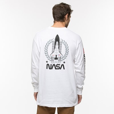 Alternate view of Mens NASA Remix Long Sleeve Logo Tee