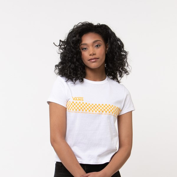 Default view of Womens Vans Checkered Baby Doll Tee