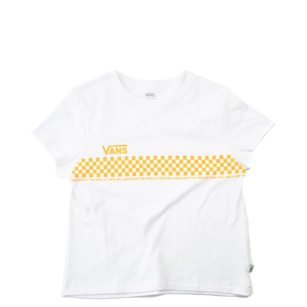 Womens Vans Checkered Baby Doll Tee