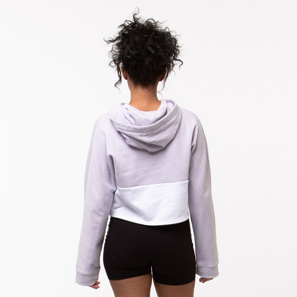 alternate view Womens Vans Off The Wall Cropped HoodieALT1