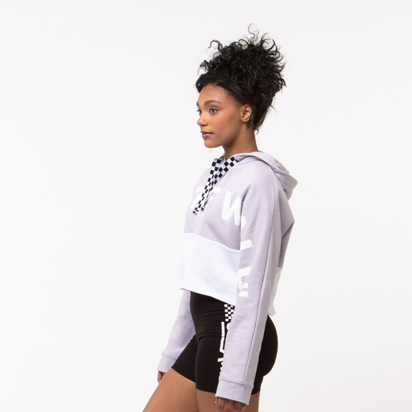 alternate view Womens Vans Off The Wall Cropped HoodieALT2
