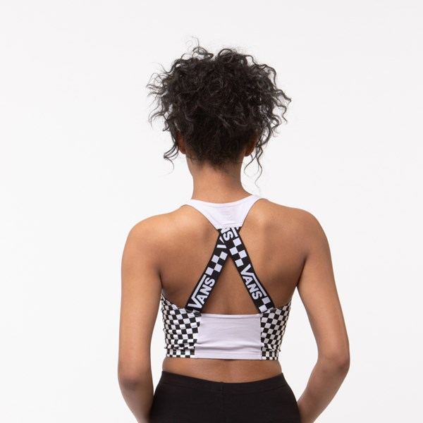 Alternate view of Womens Vans Checkered Cropped Tank