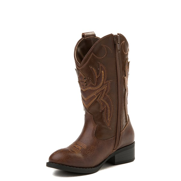 alternate view Frye & Co. Bailey Patch Western Boot - Little Kid / Big KidALT3