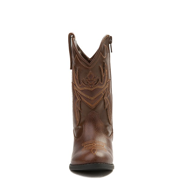 alternate view Frye & Co. Bailey Patch Western Boot - Little Kid / Big KidALT4