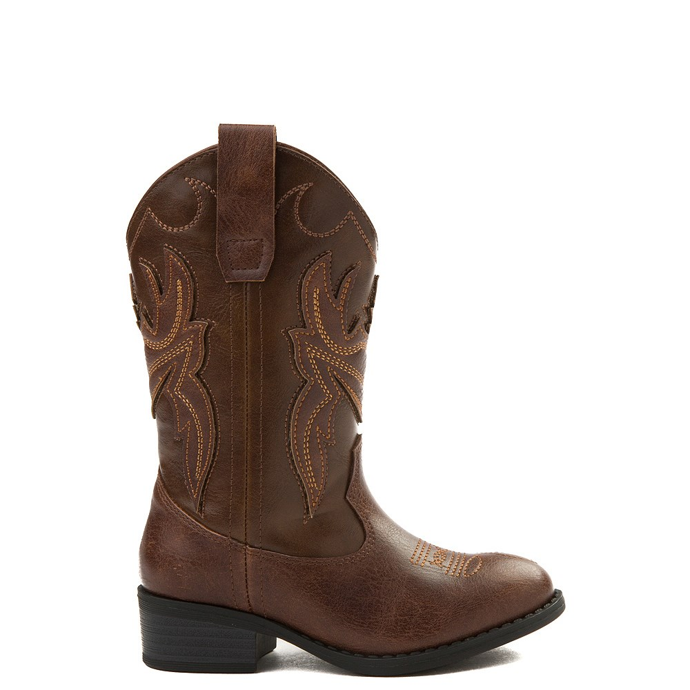 Frye & Co. Bailey Patch Western Boot - Little Kid / Big Kid