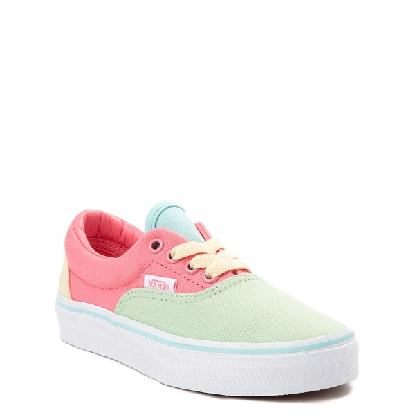 Alternate view of Vans Era Color Block Skate Shoe - Little Kid / Big Kid