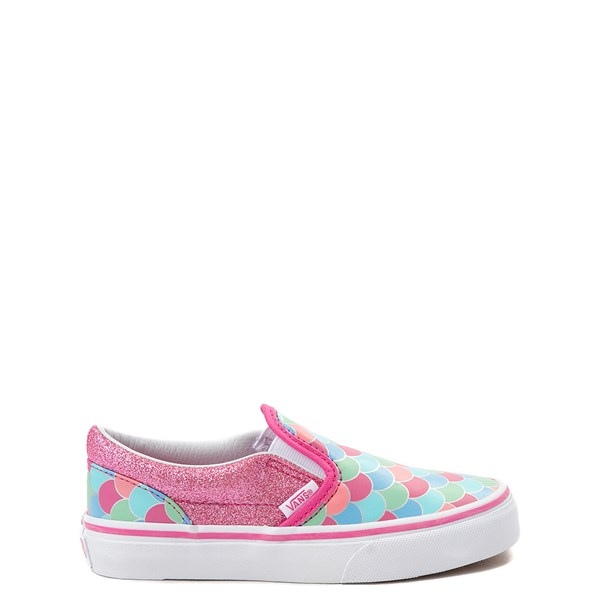 Vans Slip On Mermaid Skate Shoe - Little Kid / Big Kid