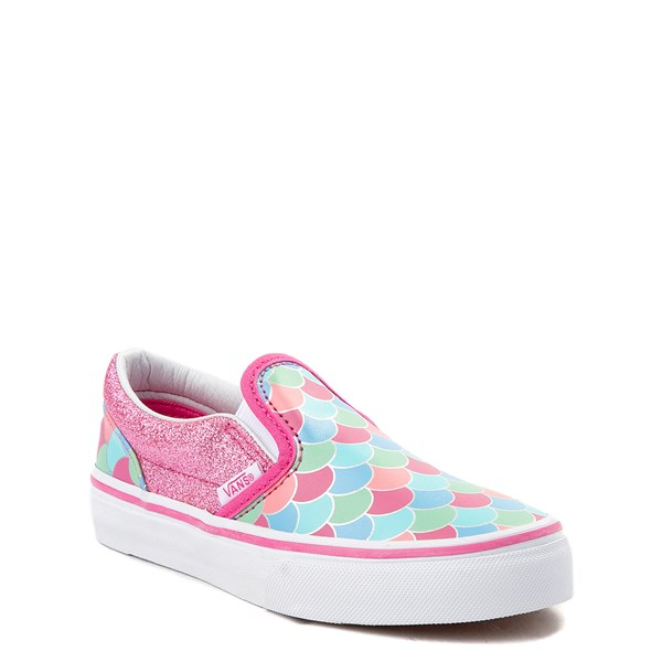 Alternate view of Vans Slip On Mermaid Skate Shoe - Little Kid / Big Kid