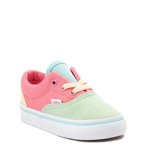 Alternate view of Vans Era Color-Block Pastel Skate Shoe - Toddler