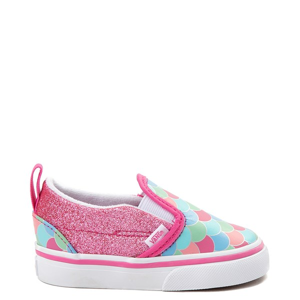 Vans Slip On Mermaid Skate Shoe - Toddler