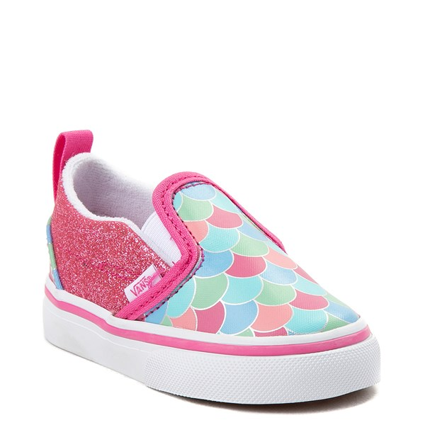 Alternate view of Vans Slip On Mermaid Skate Shoe - Toddler