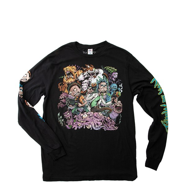 Mens Rick And Morty Long Sleeve Tee