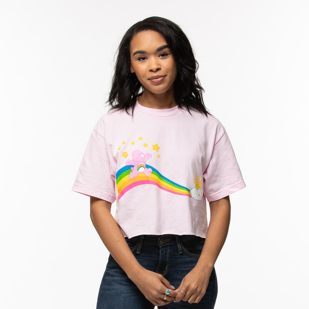 Womens Care Bears Crop Tee
