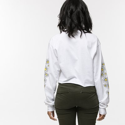 Alternate view of Womens Daisy Cropped Long Sleeve Tee