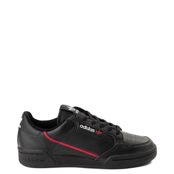 adidas Continental 80 Athletic Shoe - Big Kid - Black / Navy / Red