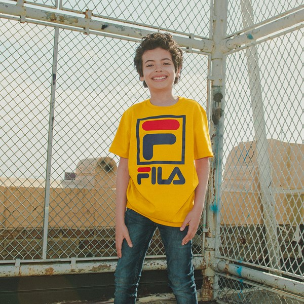 alternate view Fila Logo Tee - Little KidB-LIFESTYLE1