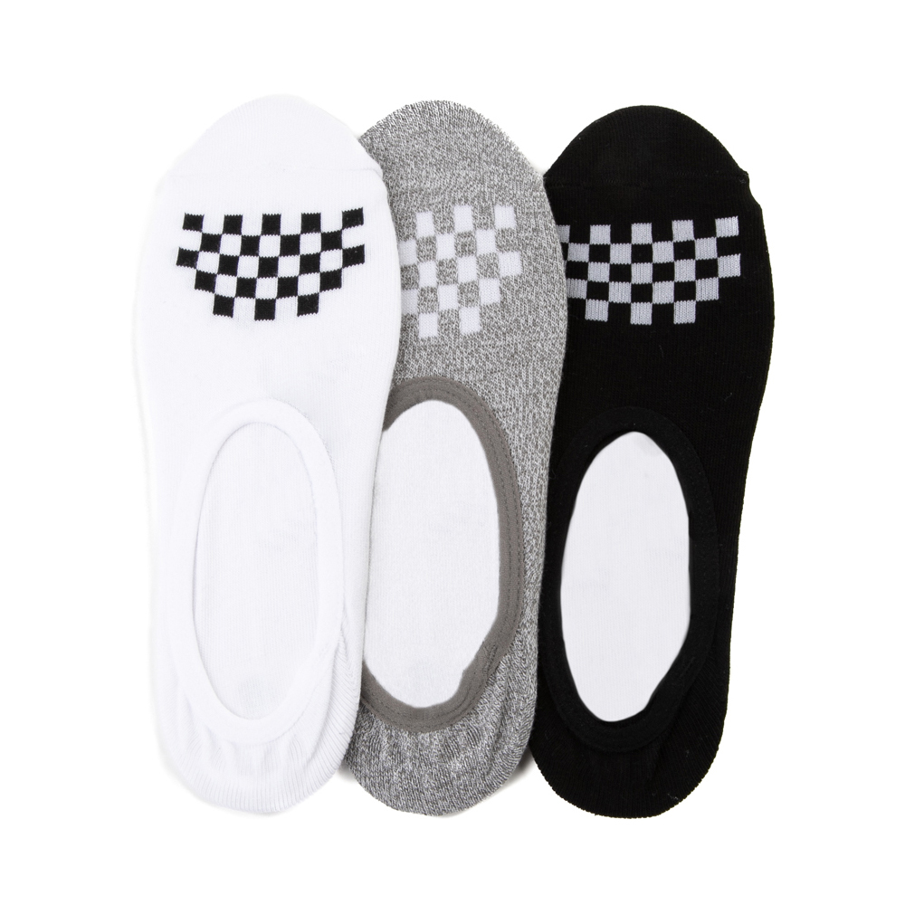 Womens Vans Canoodle Liners 3 Pack - Multicolor