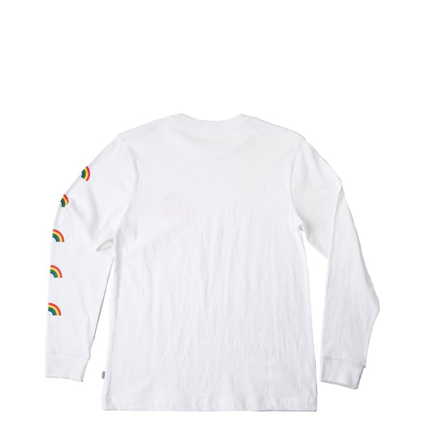 ebfe2ef04b Womens Vans Rainbow Long Sleeve Boyfriend Tee