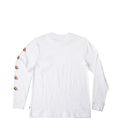 Alternate view of Womens Vans Rainbow Long Sleeve Boyfriend Tee