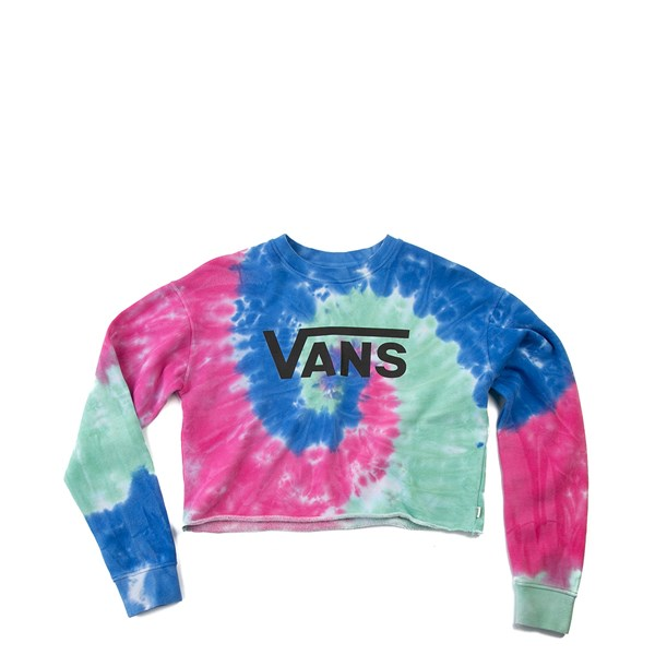 Womens Vans Dye Job Cropped Crew Tee