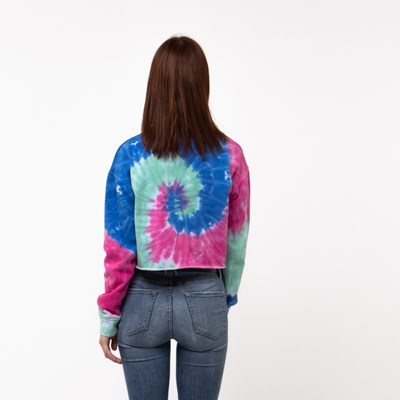 Alternate view of Womens Vans Dye Job Cropped Crew Tee