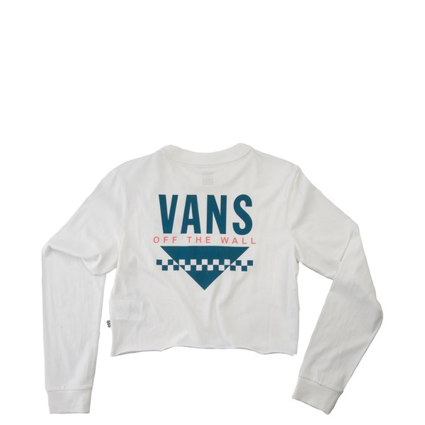 Alternate view of Womens Vans Sound Cropped Long Sleeve Tee