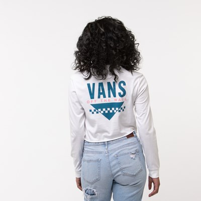 Main view of Womens Vans Sound Cropped Long Sleeve Tee