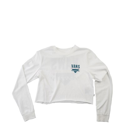 Womens Vans Sound Cropped Long Sleeve Tee