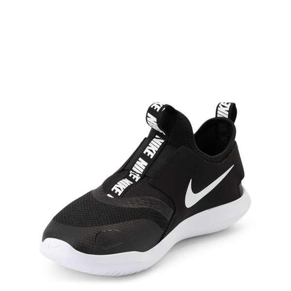 alternate view Nike Flex Runner Slip On Athletic Shoe - Big Kid - BlackALT2
