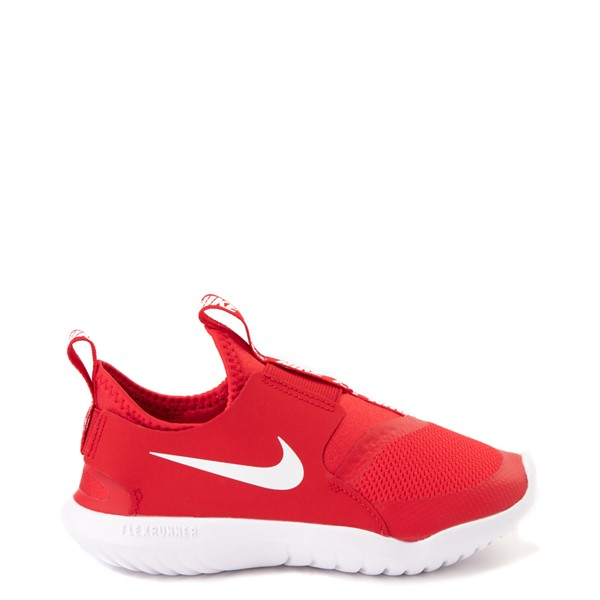 Nike Flex Runner Slip On Athletic Shoe - Little Kid - Red